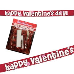 Valentine's Day Banner from Windy City Novelties
